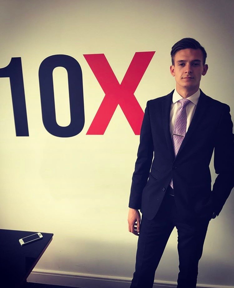Vasile Topciu of Vas Promotions urges aspiring professionals to read 'The 10x Rule'